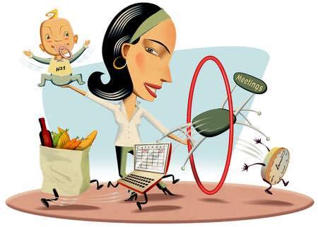 Quando sei una donna tuttofare e, assorbita dagli impegni, ti sembra di non avere il tempo per te e rinunci a te stessa!